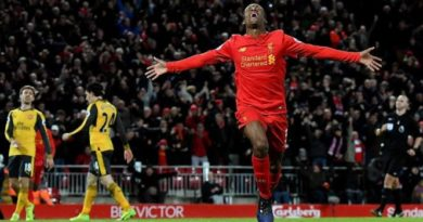 Liverpul' obygryvaet Arsenal so schetom 3-1