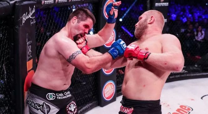 Sergei Kharitonov knocked out chase Gormley